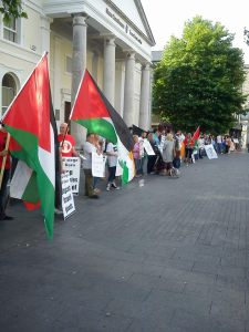 All-Kildare Palestine Solidarity Protest in Naas 7/7/14
